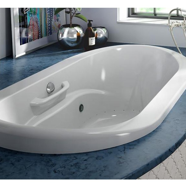 Bainultra Amma Oval 7242 Bathtub For The Residents Of