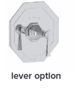 Perrin& Rowe – Concealed thermo shower without flow control – U5157T AND U5158T 2