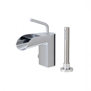 2-piece deckmount tub filler with handshower - 32074