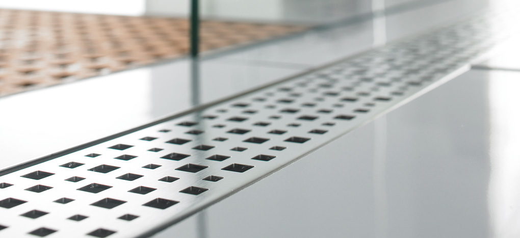Aco Quartz Pixel Grate 37408 Shower Channel At Bath