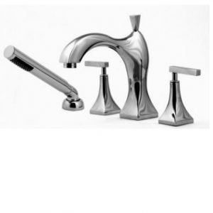 Cabano - Romantica - Tub Filler with Hand shower
