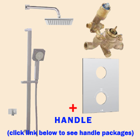 Aquabrass Shower Kit TREVI N1058 Square 37