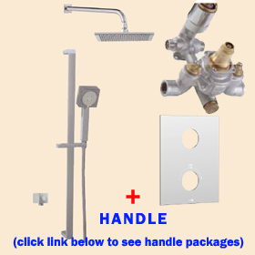 Aquabrass Shower Kit TREVI N1062 Square 43
