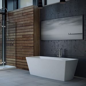 Azzura-bathtub-Carrera 67""