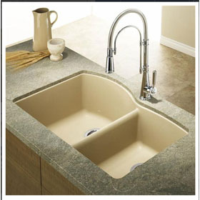 Blanco Kitchen Sink Silgranit Diamond U 1 3/4 400076