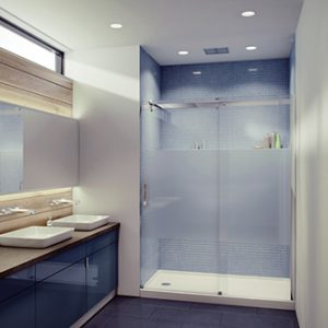Calm Tomlin Flow-48 Anclove Shower Glass Door and Panel