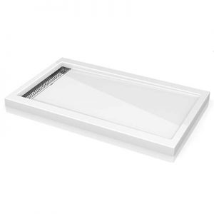 Fleurco Shower Base ABE3648 Quad linear drain cover