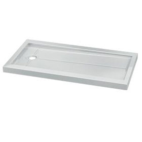 Fleurco Shower Base Rectangular Acrylic Shower Base Side Drain (ABF3260)