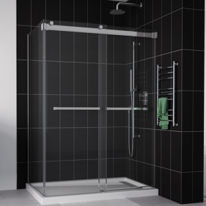 Fleurco Shower Door Gemini 2 Sides ByPass Plus Including Return Panel