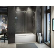 Fleurco Shower Door Kinetik In line tub (KS)