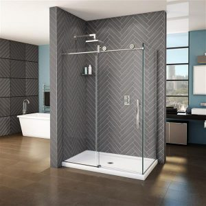 Fleurco Shower Door Kinetik Two sided KNPR