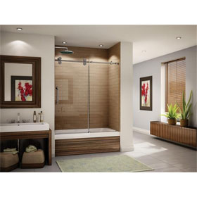 Fleurco Shower Door Kinetik-In-line tub (KT)