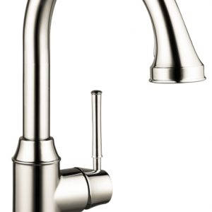 Hansgrohe Talis C 2-Spray HighArc Kitchen Faucet, Pull-Down