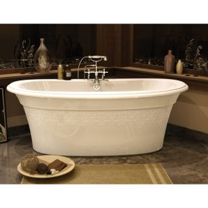 Maax Bath Tub Ella Embossed Design 6636