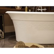 Maax Bath Tub Ella Embossed Design 6636 2