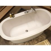 Maax Bath Tub Ella Embossed Design 6636 4