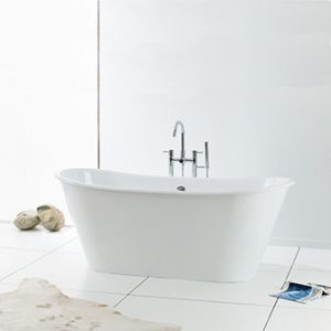 Recor Freestanding Bathtub - Iris Cast Iron Bathtub