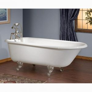 "Recor Freestanding Bathtub -Traditional 54""-Cast Iron"