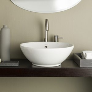 """Recor Overcounter Sink - Water Lily 13.75"""""""