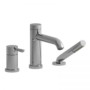 Riobel- VS- 3-Piece Type P (Pressure Balance) Deck-Mount Tub Filler With Hand Shower VS16