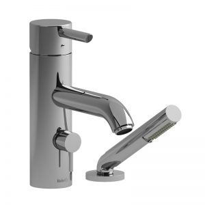 Riobel- VS-2-Piece Deck-Mount Tub Filler With Hand Shower VS02