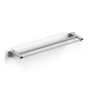 "Riobel Zendo 60 cm (24"") double towel bar"