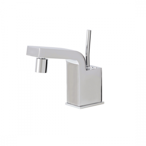 Single-hole bidet faucet with swivel spray - 28024