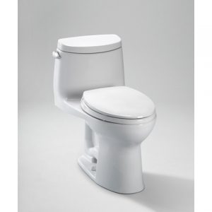 TOTO UltraMax II Toilet, 1.28 GPF with SanaGlossB. - ADA (MS604114CEFG)