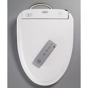 TOTO Washlet S300e Toilet Seat - Round with e-water+ (SW573)