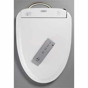 TOTO Washlet S350e Toilet Seat - Round with e-water+ (SW583)