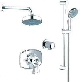 Temperature Control Shower Systems