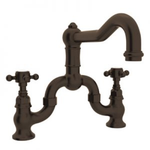 COUNTRY KITCHEN DECK MOUNT COLUMN SPOUT BRIDGE KITCHEN FAUCET PRODUCT # A1420