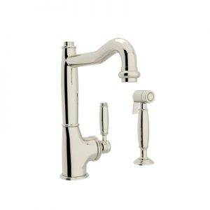 ROHL MICHAEL BERMAN COLLECTION - SINGLE LEVER SINGLE HOLE KITCHEN FAUCET WITH SIDESPRAY # MB7926