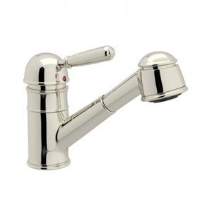 COUNTRY PULL-OUT BAR FAUCET WITH SHORT HANDSPRAY