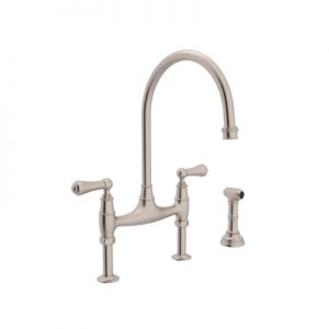 PERRIN & ROWE® BRIDGE KITCHEN FAUCET WITH SIDESPRAY # U.4719