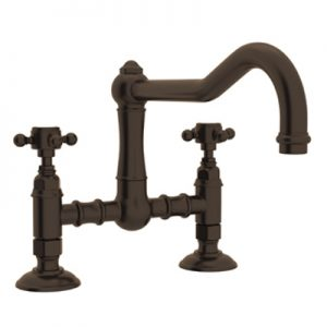 COUNTRY KITCHEN DECK MOUNT COLUMN SPOUT BRIDGE KITCHEN FAUCET PRODUCT # A1459