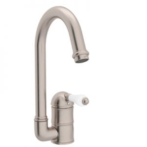 COUNTRY KITCHEN SINGLE HOLE C-SPOUT BAR/FOOD PREP FAUCET PRODUCT # A3606/6.5