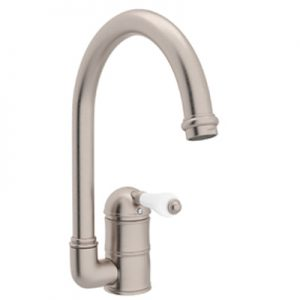COUNTRY KITCHEN SINGLE HOLE C-SPOUT KITCHEN FAUCET PRODUCT # A3606