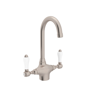 COUNTRY KITCHEN SINGLE HOLE C-SPOUT BAR/FOOD PREP FAUCET PRODUCT # A1667