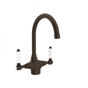 COUNTRY KITCHEN SINGLE HOLE C-SPOUT KITCHEN FAUCET PRODUCT # A1676