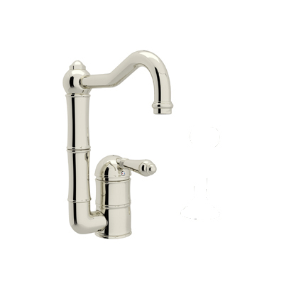 COUNTRY KITCHEN SINGLE HOLE COLUMN SPOUT BAR/FOOD PREP FAUCET PRODUCT # A3608/6.5