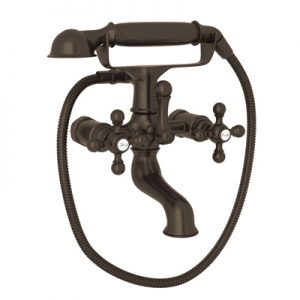 EXPOSED TUB FILLER WITH HANDSHOWER #AC7X by Rohl