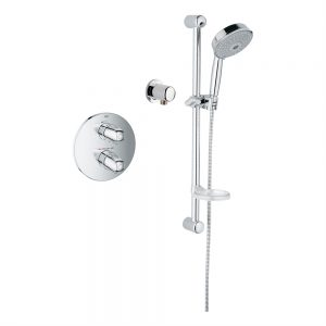 Grohe 122627 Basic THM Single Function Shower Kit