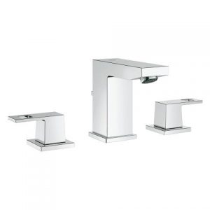 Grohe 20370000 Eurocube Widespread Bathroom Faucet