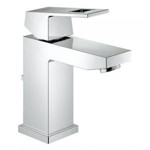 Grohe 23129000 Eurocube single hole lavatory faucet