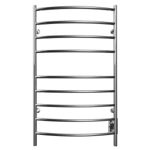 ICO K4043W Kontour Towel Warmer - CONVEX in Chrome