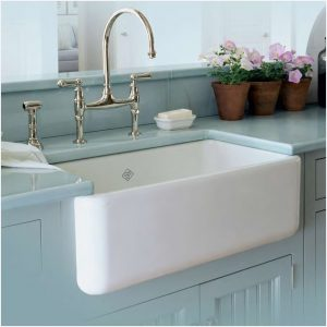 shaw lancaster 30 inch lcf3033 apron front sink