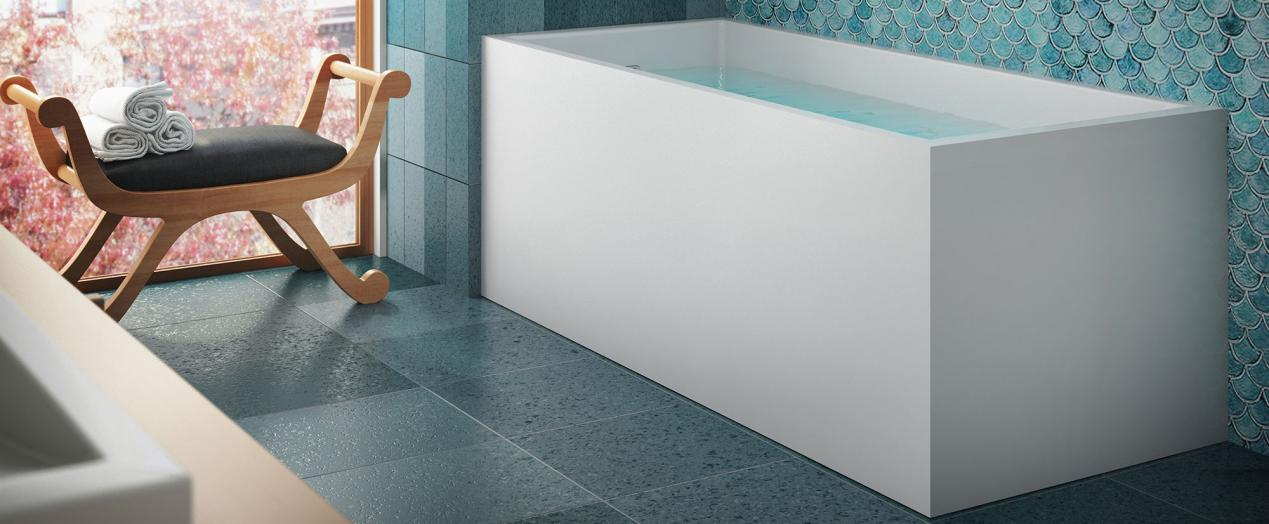 Bain Ultra NOKORI 6331 Freestanding - Bathtub for the residents of ...