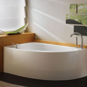 Neptune Wind 3660 Corner Bathtub