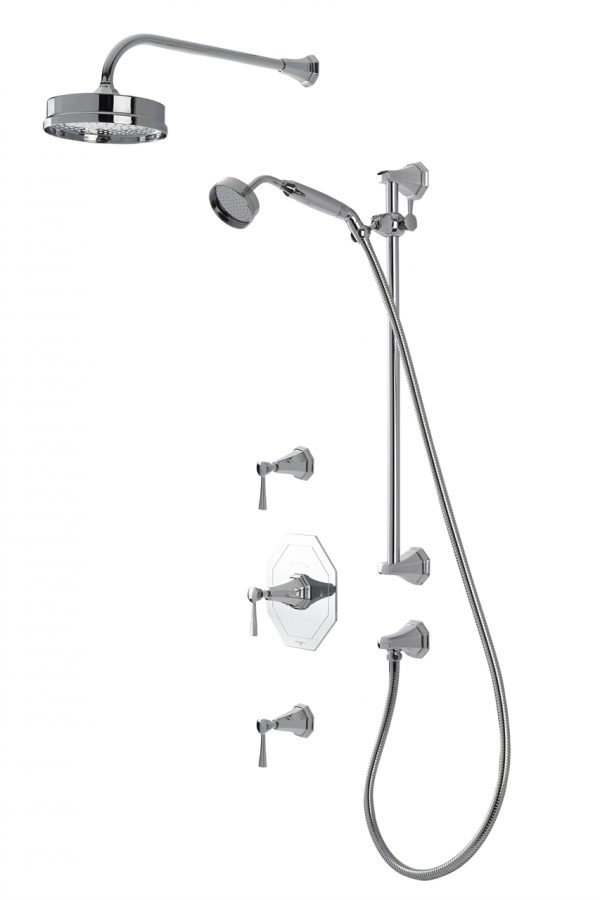 Perrin And Rowe - Deco shower set
